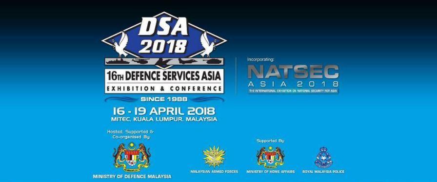 IPS expositor en DSA 2018 - Kuala Lumpur