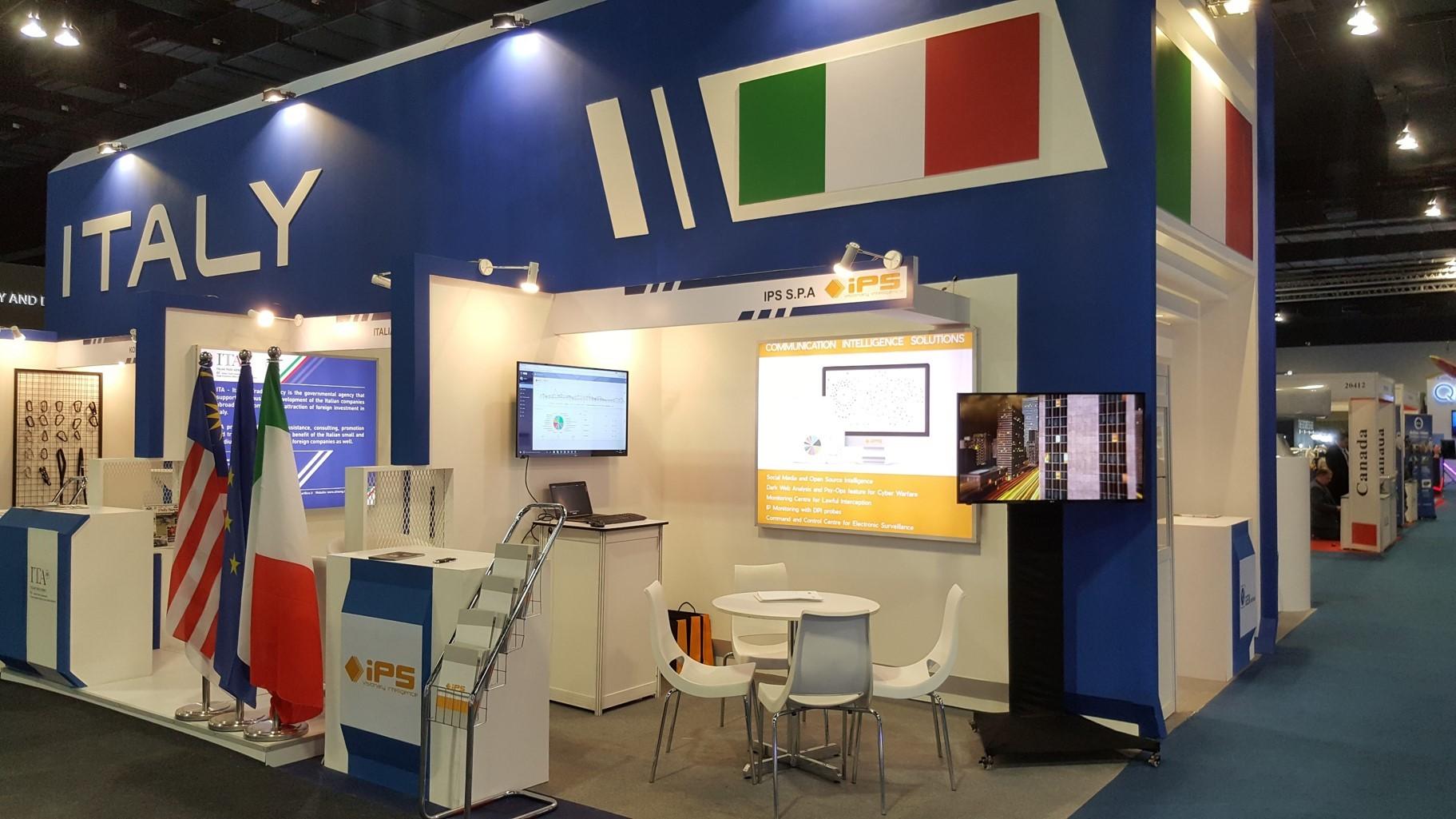 La excelencia tecnológica italiana vuela a Malasia