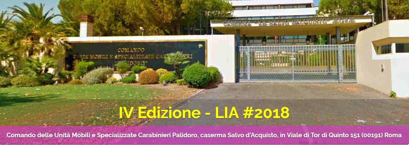 IPS at LIA 2018 - Rome