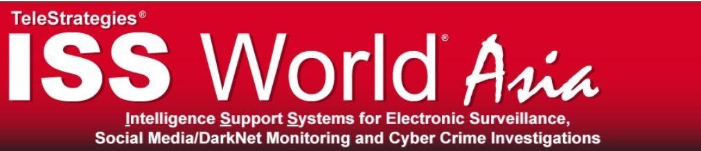 IPS en ISS World Asia 2020 - Kuala Lumpur