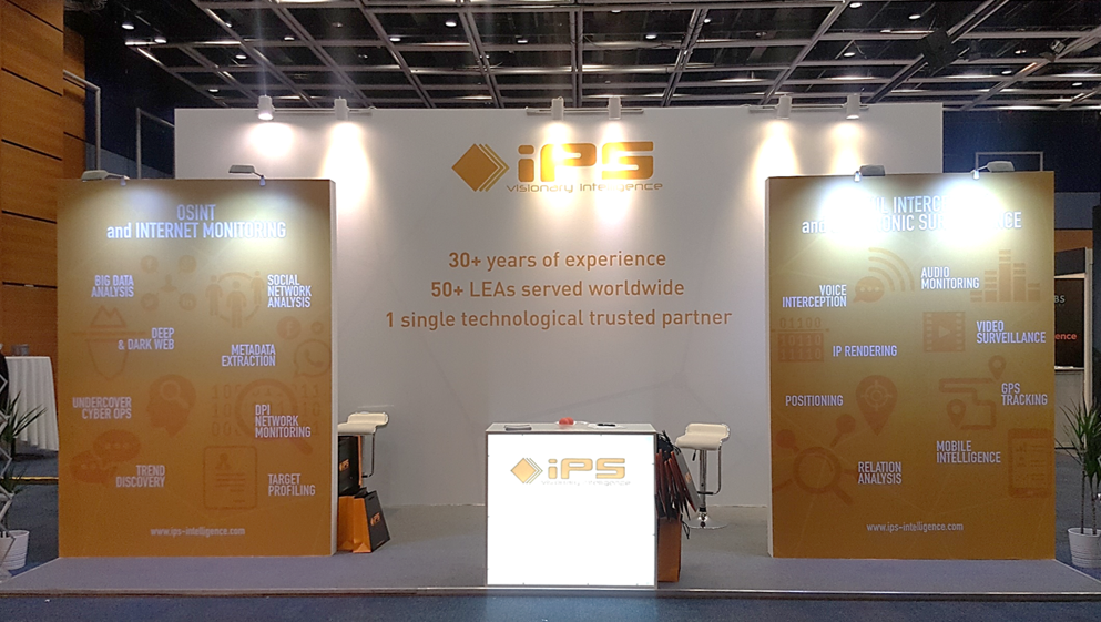 IPS is Associate Lead Sponsor at ISS World Europe 2018 - Prague