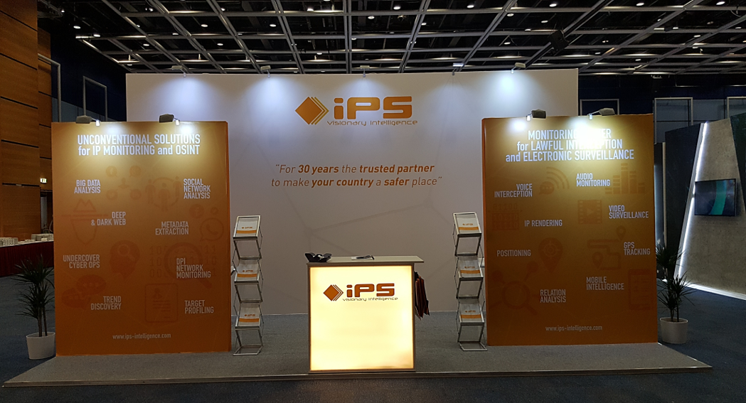 IPS espositore a ISS World Europe - Praga